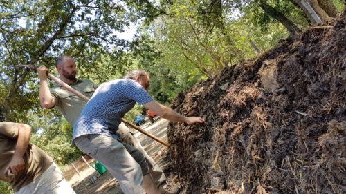 Carlo Triarico e Compost Biodinamico
