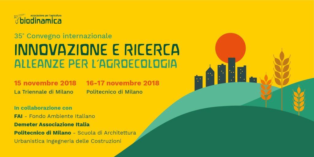 XXXV convegno Internazionale di Agricoltura Biodinamica
